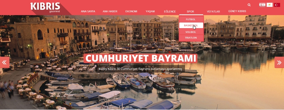 Redesign of the Online North Cyprus newspaper